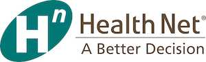 "Health Net Logo with the words ""A Better Decision"""